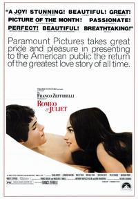 Romeo & Juliet - 43 x 62 Movie Poster - Bus Shelter Style A