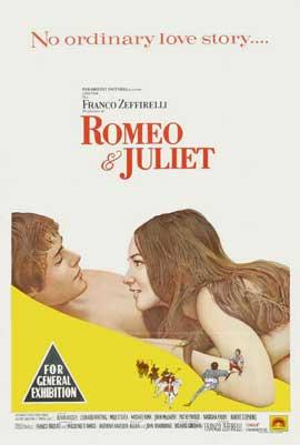 Romeo & Juliet - 11 x 17 Movie Poster - Australian Style A