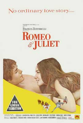 Romeo & Juliet - 27 x 40 Movie Poster - Australian Style A