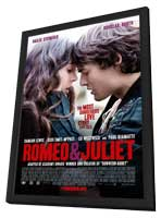 Romeo and Juliet - 27 x 40 Movie Poster - Style A - in Deluxe Wood Frame