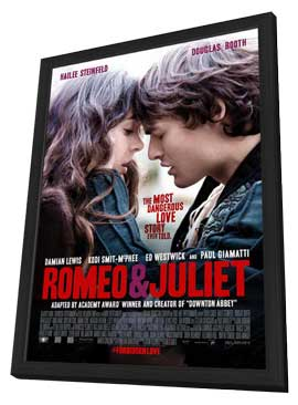 Romeo and Juliet - 11 x 17 Movie Poster - Style A - in Deluxe Wood Frame