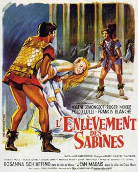 Romulus and the Sabines - 11 x 17 Movie Poster - Spanish Style A