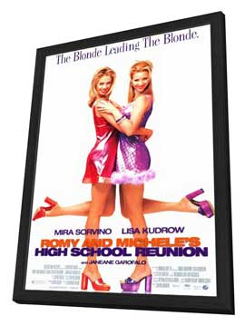 Romy and Michele's High School Reunion - 11 x 17 Movie Poster - Style A - in Deluxe Wood Frame