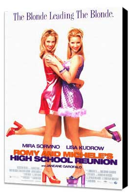 Romy and Michele's High School Reunion - 27 x 40 Movie Poster - Style A - Museum Wrapped Canvas