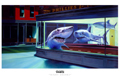 Ron English - 24 x 36 - Night Sharks
