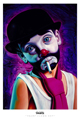 Ron English - 24 x 36 - Tramp Clown Boy