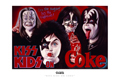 Ron English - 24 x 36 - KISS Kids on Coke