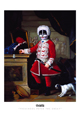 Ron English - 24 x 36 - Preschool Peter the Great