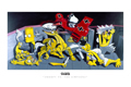 Ron English - 24 x 36 - Snoopy vs. The Simpsons