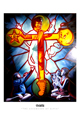 Ron English - 24 x 36 - The Ascension of Elvis
