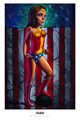 Ron English - 24 x 36 - Wonder Girl