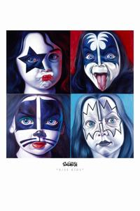 Ron English - 11 x 17 - KISS Kids