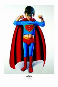 Ron English - 24 x 36 - Superboy