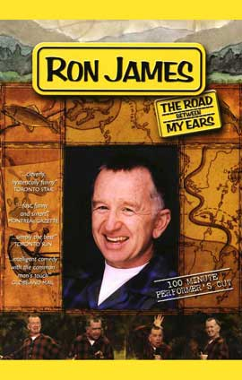 Ron James: The Road Between My Ears - 11 x 17 TV Poster - Style A