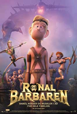 Ronal the Barbarian - 11 x 17 Movie Poster - Danish Style B