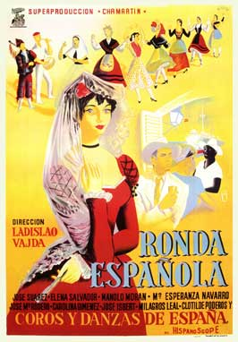 Ronda espanola - 27 x 40 Movie Poster - Spanish Style A