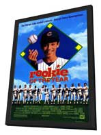 Rookie of the Year - 27 x 40 Movie Poster - Style A - in Deluxe Wood Frame