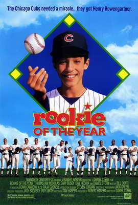 Rookie of the Year - 27 x 40 Movie Poster - Style A