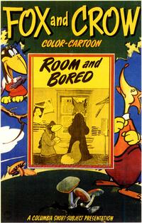 Room and Bored - 43 x 62 Movie Poster - Bus Shelter Style A