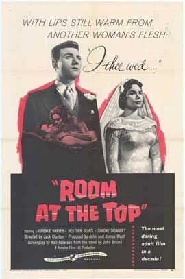 Room at the Top - 27 x 40 Movie Poster - Style A