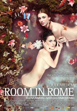 Room in Rome - 43 x 62 Movie Poster - Bus Shelter Style A