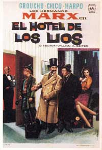 Room Service - 11 x 17 Movie Poster - Spanish Style C