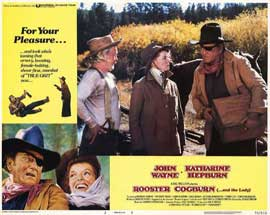 Rooster Cogburn - 11 x 14 Movie Poster - Style B