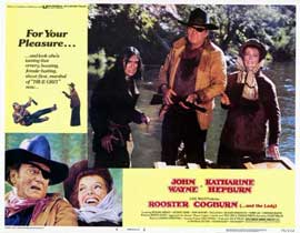 Rooster Cogburn - 11 x 14 Movie Poster - Style F