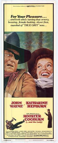 Rooster Cogburn - 27 x 40 Movie Poster - Style B