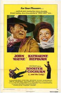 Rooster Cogburn - 43 x 62 Movie Poster - Bus Shelter Style A