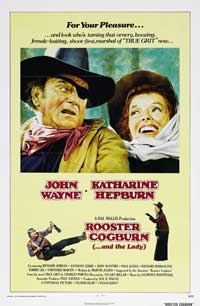 Rooster Cogburn - 43 x 62 Movie Poster - Bus Shelter Style B