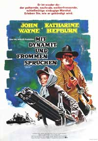 Rooster Cogburn - 11 x 17 Movie Poster - German Style A