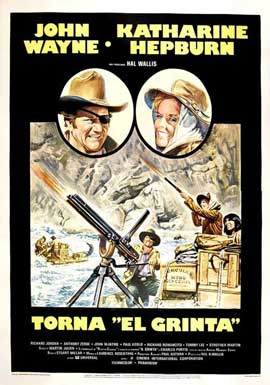 Rooster Cogburn - 27 x 40 Movie Poster - Italian Style A