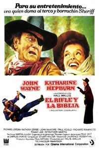 Rooster Cogburn - 11 x 17 Movie Poster - Spanish Style A