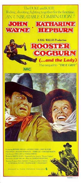 Rooster Cogburn - 14 x 36 Movie Poster - Insert Style A