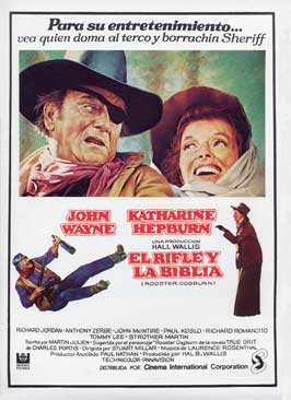 Rooster Cogburn - 11 x 17 Movie Poster - Spanish Style B