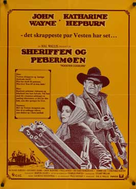 Rooster Cogburn - 27 x 40 Movie Poster - Danish Style A