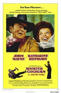 Rooster Cogburn - 11 x 17 Movie Poster - Style A - Museum Wrapped Canvas