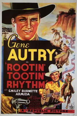 Rootin' Tootin' Rhythm - 11 x 17 Movie Poster - Style A