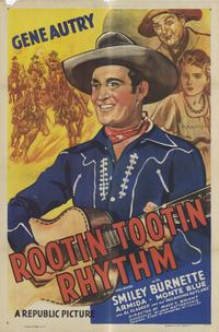 Rootin' Tootin' Rhythm - 11 x 17 Movie Poster - Style B