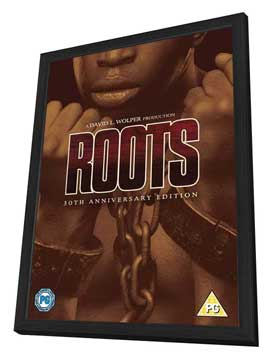 Roots - 27 x 40 Movie Poster - UK Style A - in Deluxe Wood Frame