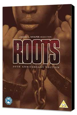 Roots - 27 x 40 Movie Poster - UK Style A - Museum Wrapped Canvas