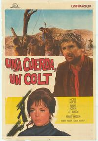 Rope and The Colt - 11 x 17 Movie Poster - Spanish Style A