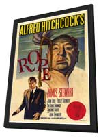 Rope - 27 x 40 Movie Poster - Style B - in Deluxe Wood Frame