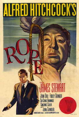 Rope - 11 x 17 Movie Poster - Style B