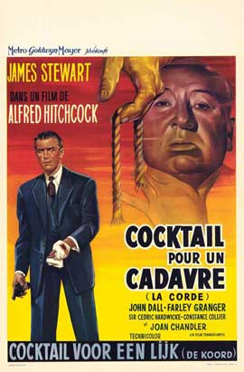 Rope - 11 x 17 Movie Poster - Belgian Style A