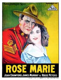 Rose-Marie - 11 x 17 Movie Poster - Style B