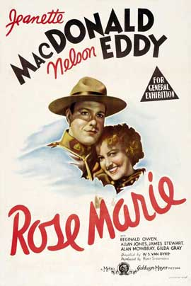 Rose-Marie - 11 x 17 Movie Poster - UK Style A