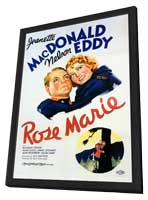Rose Marie - 11 x 17 Movie Poster - Style A - in Deluxe Wood Frame
