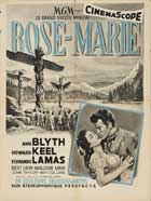 Rose Marie - 27 x 40 Movie Poster - French Style A